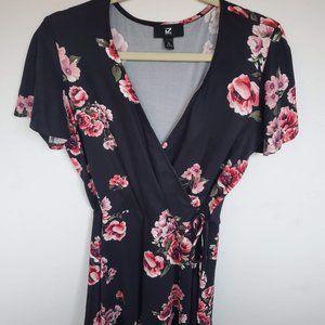 Mini Floral Party Dress